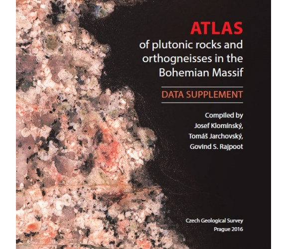 Atlas of plutonic rocks and orthogneisses in the Bohemian Massif - Data supplement/ CD