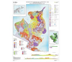 Geological map of James Ross Island northern part 1:25 000