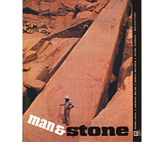 Man and stone