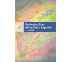 Geological Map of the Czech Republic 1 : 500 000, folded