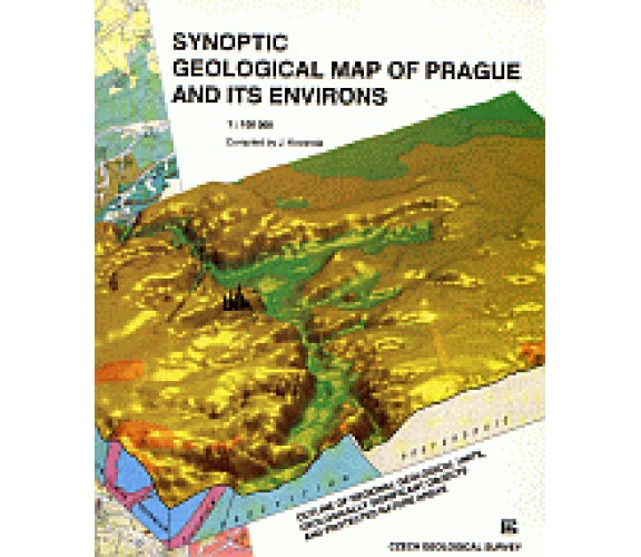 Synoptic geological map of Prague and its environs 1: 100 000