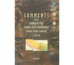 Comments od the Geological Map Lausitz-Jizera-Karkonosze 1:100 000