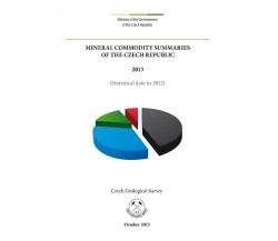 Mineral commodity summaries of the Czech Republic 2013